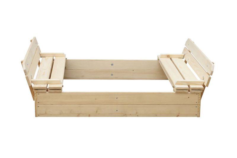 Blokplanken zandbak Willi - H32xL118xB118
