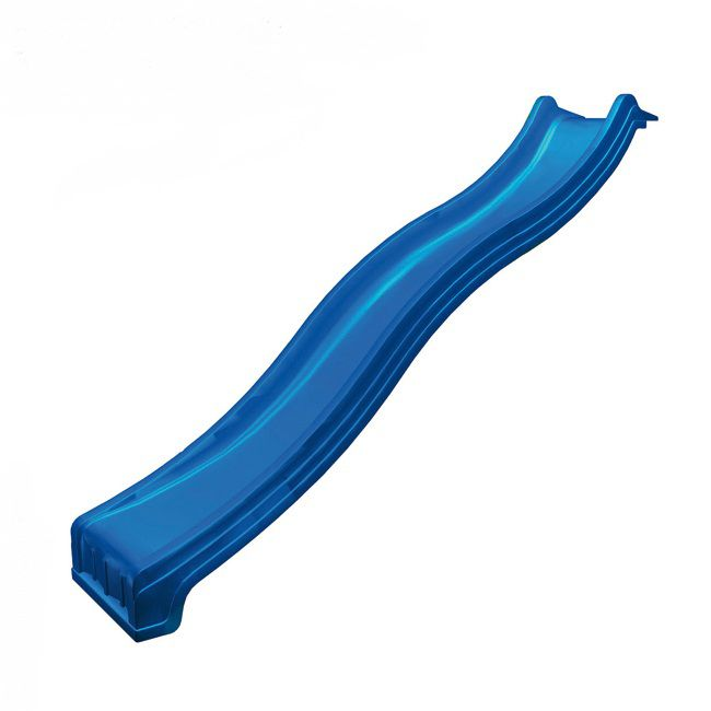 Schuif met wateraansluiting - lengte 2,40 m - kleur: blauw,