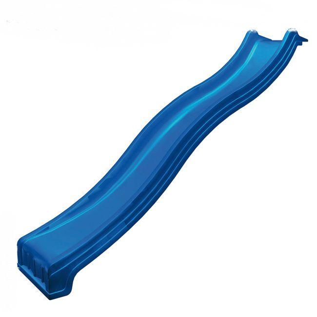 Glijbaan met wateraansluiting - lengte 3 m - kleur: blauw,