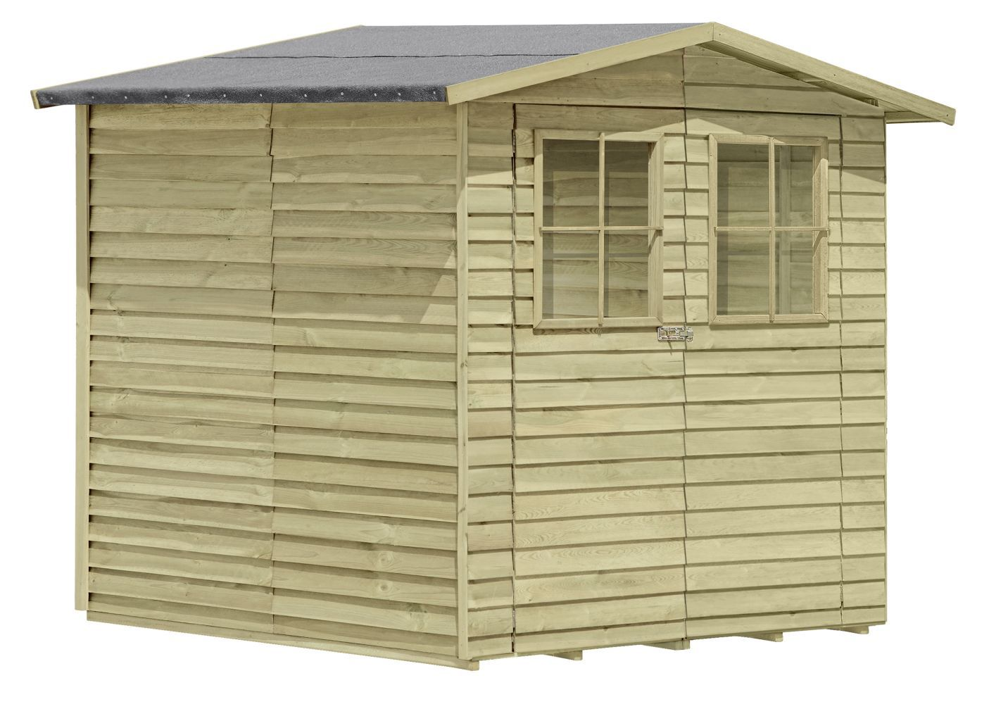 tuinhuis 04, gemaakt van grenen hout, FSC® - buitenmaten: 200 x 200 x 210 cm (L x B x H)