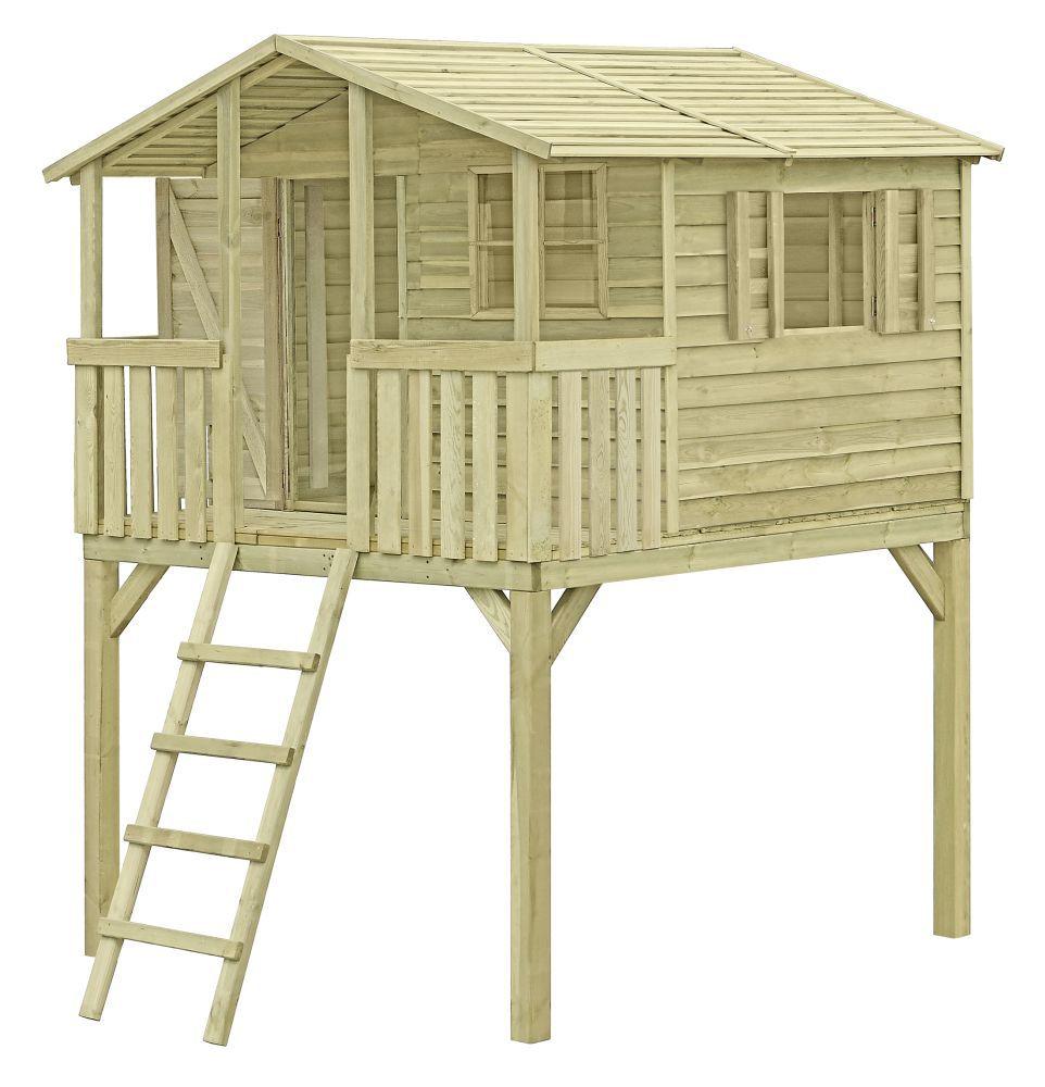 speelhuis/ kindertuinhuisje K35 - Afmetingen: 2,16 x 2,25 meter, FSC®