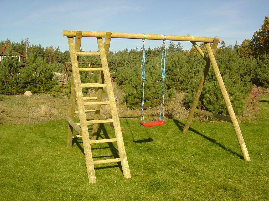 Enkele schommel K incl. ladder