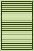 Privacyscherm voor paviljoen Vitalba - Afmetingen: 120 x 180 cm (B x H)