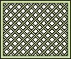 tuinlatwerk scherm nodig voor paviljoen Vitalba - afmetingen: 120 x 90 cm (B x H)