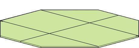 Vloer voor paviljoen Vitalba - Ø 350 cm