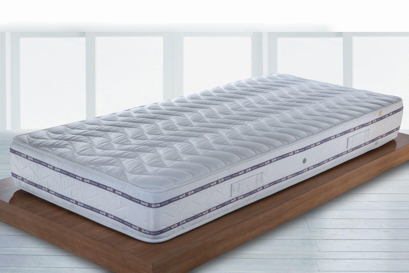Matras Elegance Relax met Bonell verenkern - Afmetingen: 90 x 200 cm