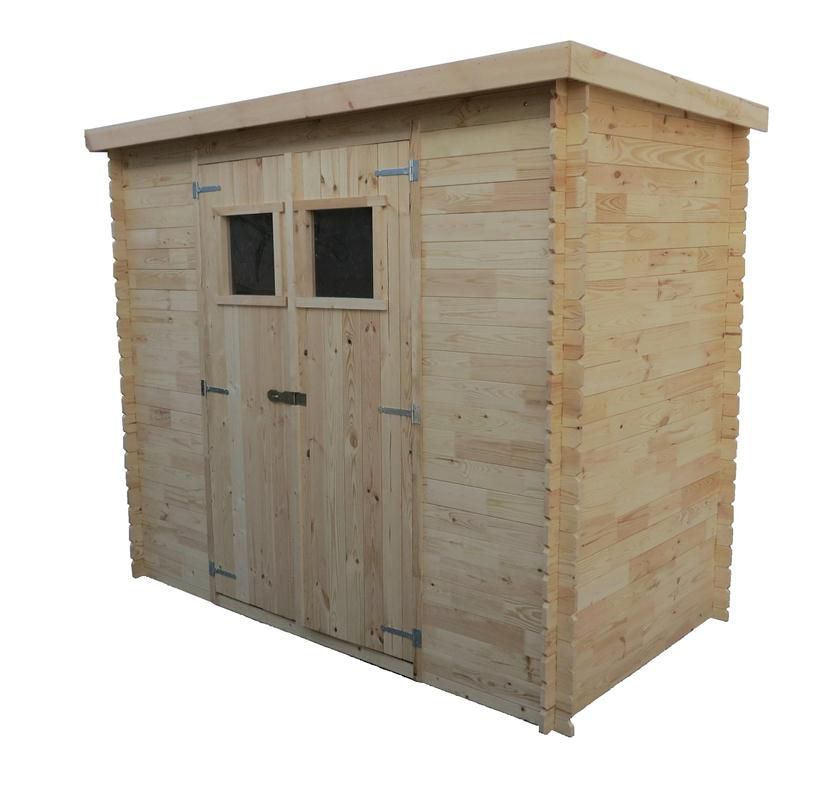 tuinhuis /tuinschuur Pöchlarn - 1,30 x 2,35 meter gemaakt van 19mm houtplanken